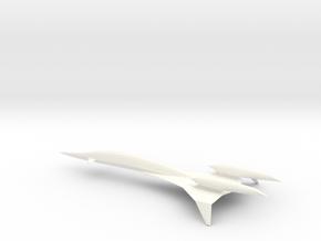SSBJ Enterprise (Supercruise) in White Processed Versatile Plastic: 1:250