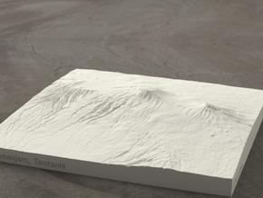 6''/15cm Mt. Kilimanjaro, Tanzania, Sandstone in Natural Sandstone