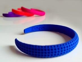 Voilà Cuff in Blue Processed Versatile Plastic: Medium