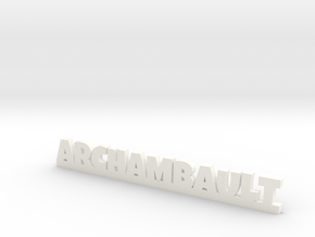 ARCHAMBAULT Lucky in White Processed Versatile Plastic