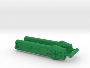 KWF Type F Klingon Warp Nacelle in Green Processed Versatile Plastic