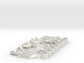 3Ecken11er in White Natural Versatile Plastic