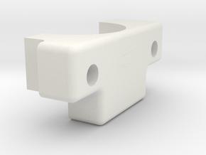 Ultimaker Adaptor Clamp in White Natural Versatile Plastic