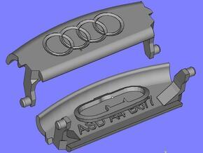 Audi A4 B6 Armrest lid with spring 4rings in Black Natural Versatile Plastic