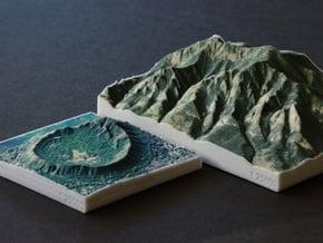 Flatirons, Colorado, USA, 1:25000 in Full Color Sandstone