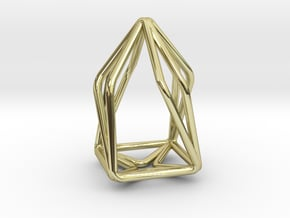 House Enmotion Pendant in 18k Gold Plated Brass