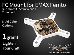 Femto FC 30.5x30.5mm Mount / Transfer Plate in White Natural Versatile Plastic