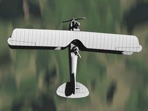 Albatros J.II (various scales) in Gray PA12: 1:144