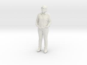 Printle C Femme 197 - 1/32 - wob in White Natural Versatile Plastic