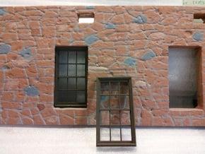 Window, 40in X 74in, 12 Panes, x2 in White Natural Versatile Plastic