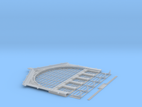 NGG-VerFac01 - Large Railway Station in Smooth Fine Detail Plastic