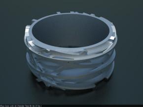 Birdnest Ring in Smooth Fine Detail Plastic