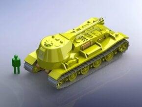 German VK 7201 (K) Superheavy Tank 1/144  in White Natural Versatile Plastic