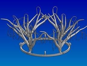 Hanger Ring in White Natural Versatile Plastic