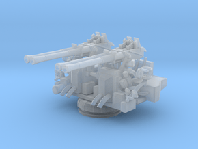1/160 USN 40mm Quad Bofors Mount in Smooth Fine Detail Plastic