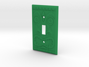 Tiki One in Green Processed Versatile Plastic