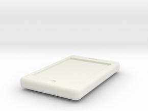 1/10 Scale Apple Iphone in White Natural Versatile Plastic