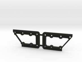 Rivarossi FM C-Liner Window Grille Frame in Black Natural Versatile Plastic