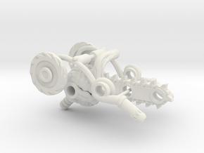 BMOG Brainsaw 3-Part Kit in White Natural Versatile Plastic