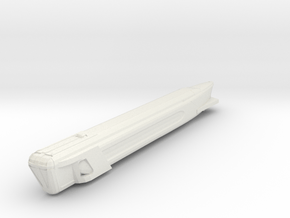 2500 Fed Warp Eng Single in White Natural Versatile Plastic