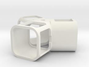 360 Session View in White Natural Versatile Plastic