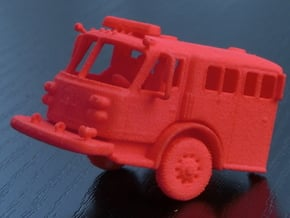 ALF Century 2000 1:32 Cab in Red Processed Versatile Plastic