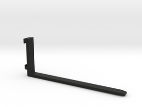 Gabel 2000mm in Black Natural Versatile Plastic