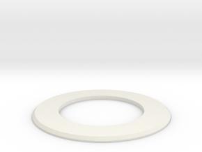 Goof ring in White Natural Versatile Plastic