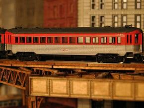 CNSM 741 - 776 Silverliner series coach in Smooth Fine Detail Plastic