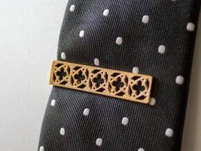 Gothic Tie Bar - 1.5 in in Natural Bronze