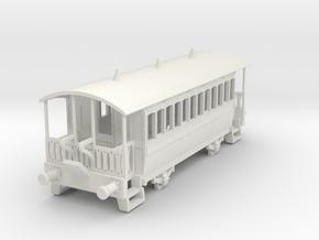 M-87-wisbech-tram-coach-1 in White Natural Versatile Plastic