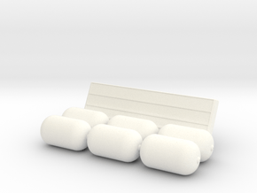 Huitfeldt  Assembly3  1/72 in White Processed Versatile Plastic
