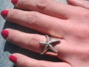 Stella Marina ring in Polished Silver: 7 / 54