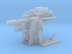 1/72 USN 5 inch Loading Machine Starboard in Smooth Fine Detail Plastic