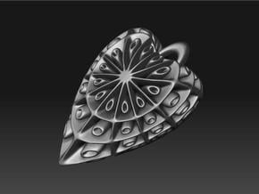 droplet earring-4 in White Natural Versatile Plastic