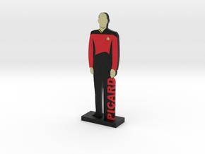 Captain Jean-Luc Picard = DESKAPADES = in Full Color Sandstone: Small