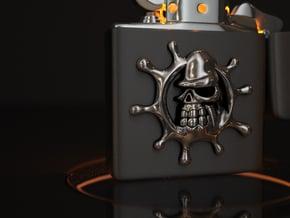Splash Gollira in Polished Silver