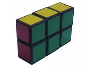 Easy Cuboid: 1x2x3 in White Natural Versatile Plastic