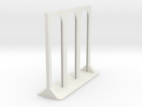 Porta Capsule tipo Nespresso Lineare per 9 in White Natural Versatile Plastic