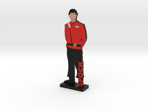 First Officer Spock = DESKAPADES = in Full Color Sandstone: Small