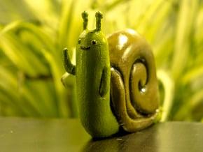Adventure Time Lich Snail in White Natural Versatile Plastic: Small