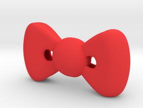 HELLO KITTY RIBBON MEDIUM 70mm  in Red Processed Versatile Plastic