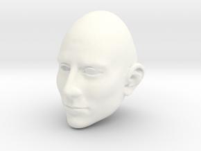 TomHb 10e! 060 ASYM Tiny Smile02  FRONT in White Processed Versatile Plastic