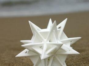 Angularstar with ball inside in White Natural Versatile Plastic