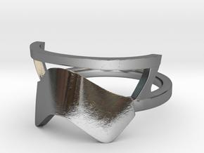 Star wars Stormtrooper Ring v.1.0 in Polished Silver: 7 / 54