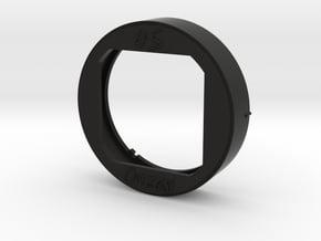 CS-O4518 Lens Hood for Olympus 45mm F1.8 in Black Natural Versatile Plastic