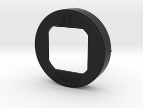 CS-O2518 Lens Hood for Olympus 25mm F1.8 in Black Natural Versatile Plastic