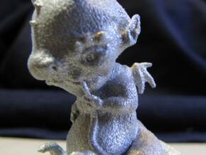 Dragon Baby statue in White Natural Versatile Plastic