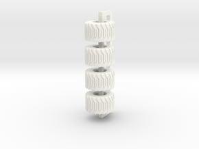 710/40-22.5 Alliance Tire in White Processed Versatile Plastic