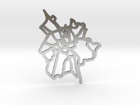 Salzburg Pendant in Natural Silver
